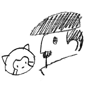 株式会社hush - 横浜・山下町のイラスト・グラフィックデザイン会社 代表取締役 橋爪祐二の可愛い自画像