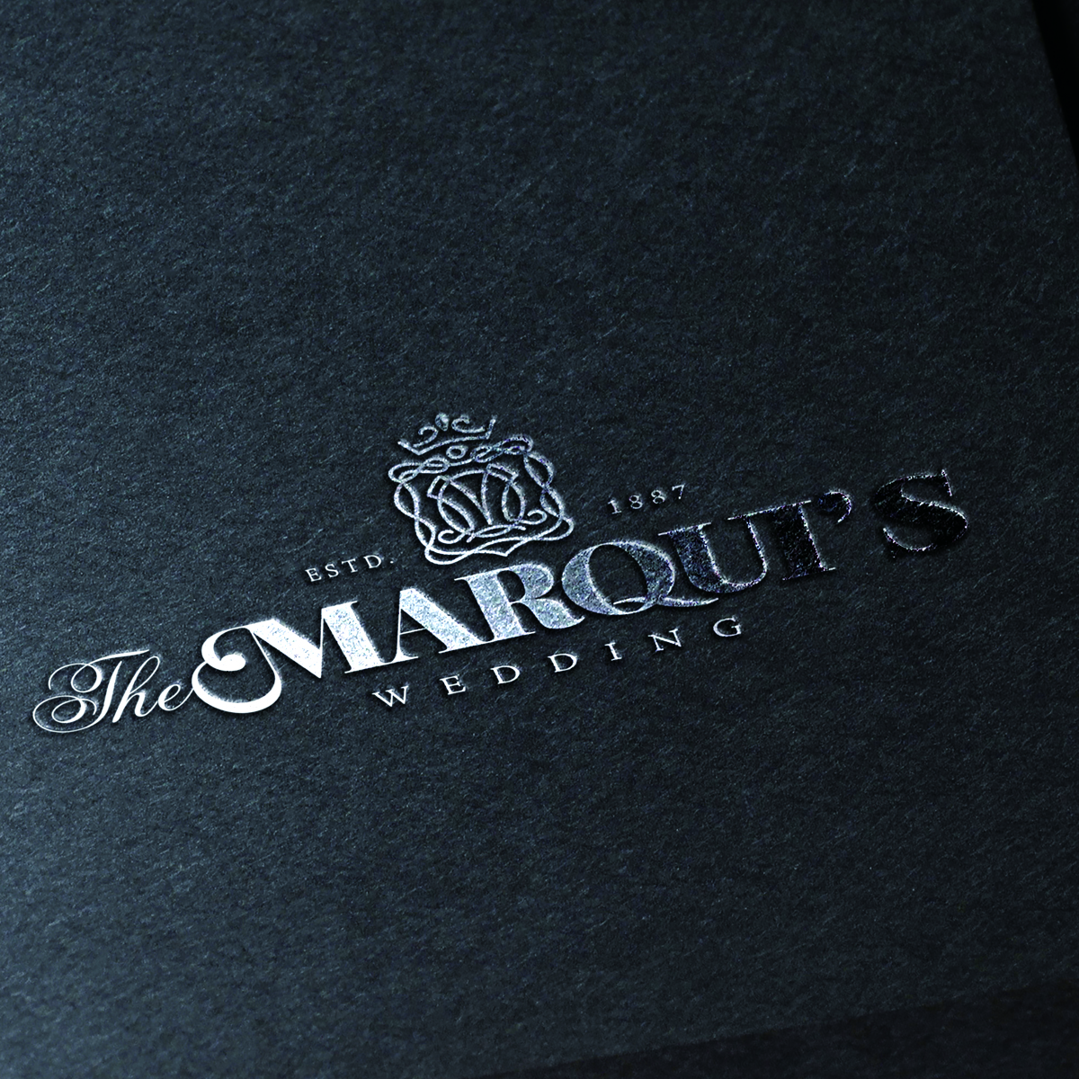The MARQUI'S LOGO 長崎県南島原の結婚式場ザ・マーキーズ ロゴデザイン