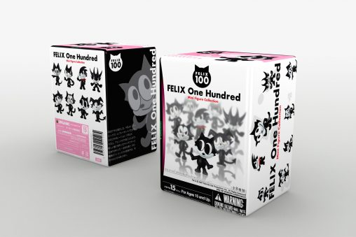 felix100 パッケージデザイン