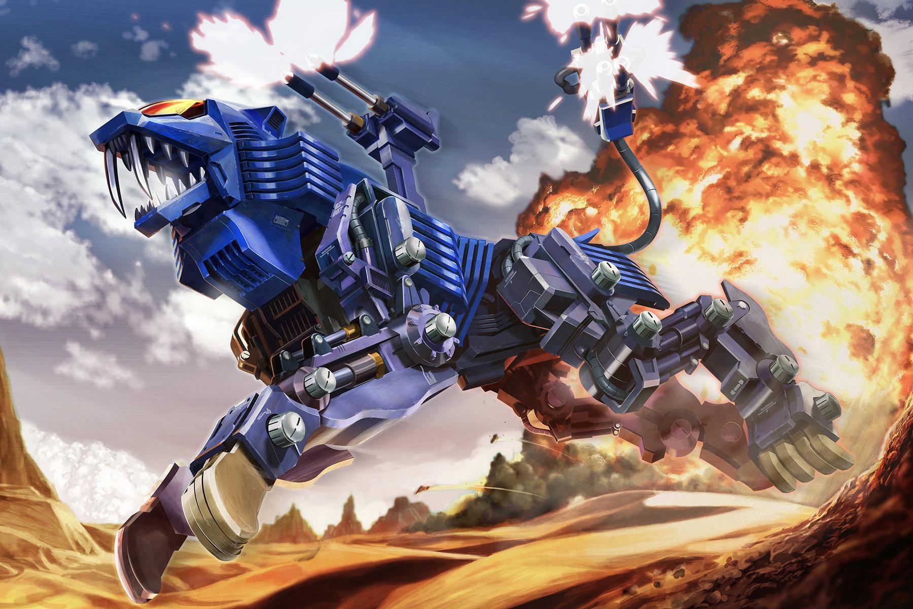 ZOIDS shield liger