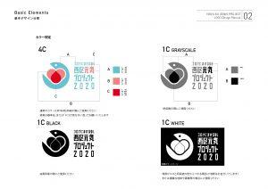 横浜市西区役所 西区元気プロジェクト コロナにまけるな! ロゴデザイン スタイルガイド03 株式会社hush