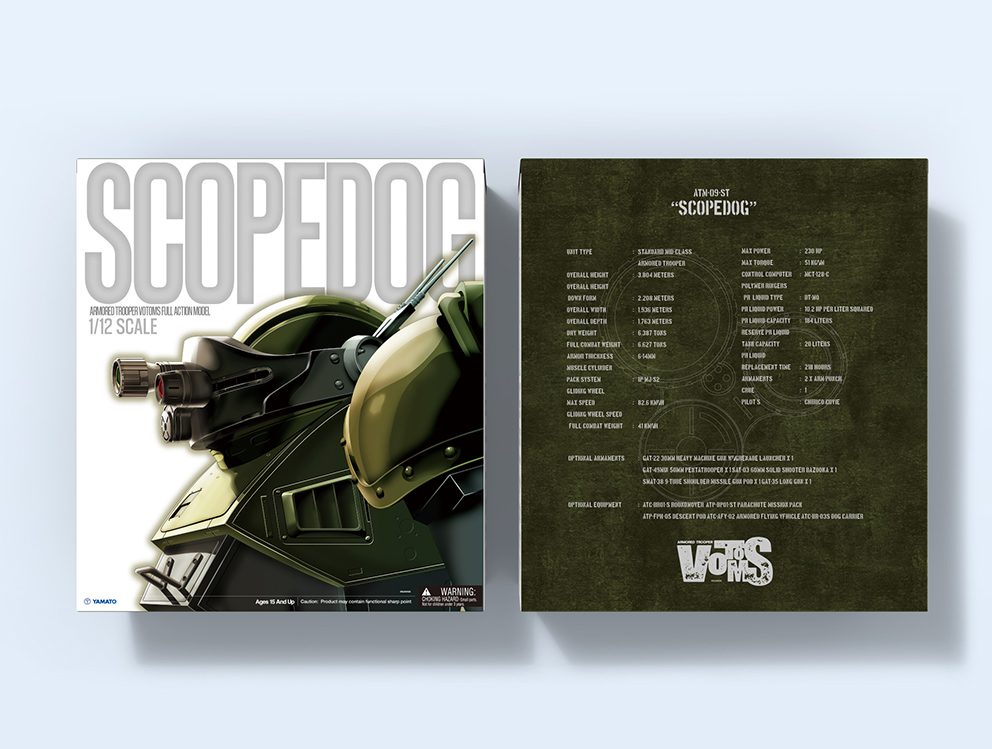 Read more about the article Armored Trooper Votoms 1/12 Scopedog